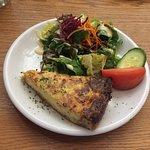 Basler Onion Tart w/ Greens