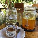 Turmeric honey tea