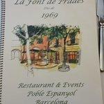 Zdjęcie Restaurant La Font de Prades