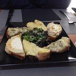 les toasts à 8 euros... fromage peu goûteux