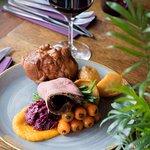 Topside beef Sunday roast