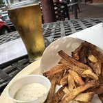 Pensacola's favorite Belgian Fries with Crack Sauce