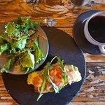 "Today's breakfast ""La Brie"""
