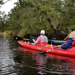 Tour guide and a 2 person kayak
