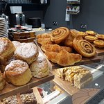 Fresh baked scones & pastries