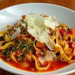 Fettucine -Sheppard Farms beef bolognese, rapini, autumn squash & Pecorino Ginepro