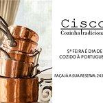 5ª Feira é dia de Cozido à Portuguesa no CISCO!
