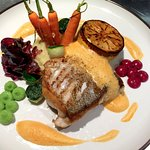 Today´s special, Halibut with taste of autumn