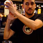 Our very own Bartender, shaking things up!