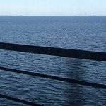 Oresund Strait - view from the train on the bridge