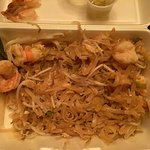pad thai shrimp. Ruined my meal, threw away the remaining food.