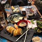 Amazing Sushi and desserts!