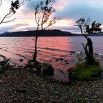 Wild camping on Loch Ness