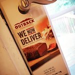 Outback delivers! A convenient, and innovative way to get your brand out there. The first of the