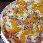 The Hawaiian pizza.
