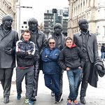 Photo of Beatles statue
