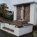 Madonna on little stone bridge