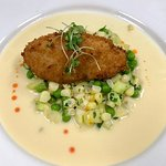 Yummy! Our most popular app! Crab Cake!