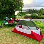 West Coast Wilderness, camping at Lake Kaniere