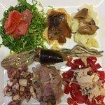 piatto degustazione di pesce
