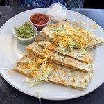 Mr. P's Cheese Quesadilla