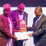 Receiving the Award from the President of Zanzibar for the best in local dining experience!!!!