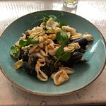 Squid & Mussels Risotto