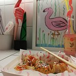 Dimsum με κοτόπουλο και γαρίδες...