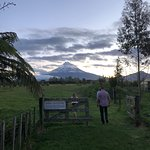 A gorgeous view from the restaurant.  A lovely meal with excellent hosts...