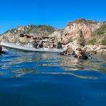 Blue Cave Bay dive site