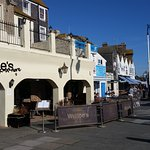 Webbe's - Looking East along Hastings Promenade