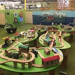 This is one of the exhibits in the area for the very small children. Our granddaughter loved it!