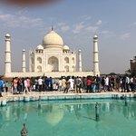 beautiful at the Taj!