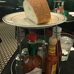 Nice bread being served complimentary