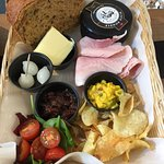 Whole cheese ploughmans