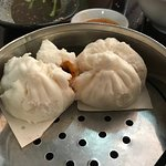 Char siu bao (2 buns, smaller but meat to bun ratio was very good) Best buns I ever had.