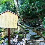 徳川家康が名水と称えお茶を入れたと言うお茶の水。