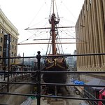 Dry-docked but open for tours