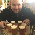Flight of beers at MickDuff's!