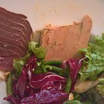 Salade gourmande, même le bol n'est pas rempli