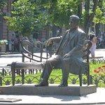 Φωτογραφία: Monument to L. Utesov