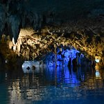 LOTS of bats in the cenote, and it's a tough squeeze into some of the tunnels