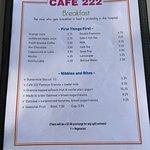 Foto de Cafe 222
