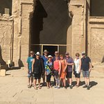 Group at Edfu Temple