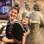 Terracotta warriors. I recommend wearing your kiddos for easier wandering.