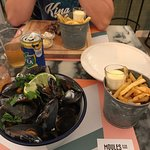 Bild från Moules and Gin