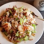 Roast beef hash, an awesome dish from Keys