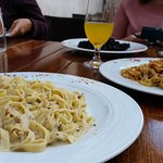 Best sea food pasta in the world