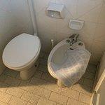Toilet gedeelte 'gewone kamer'