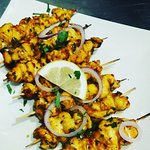 Trial spicy indian style kebabs